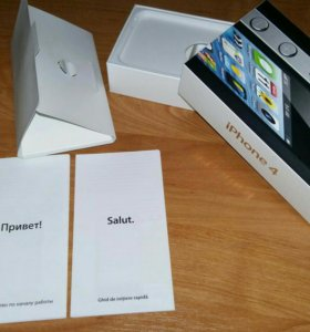 Оригинальная коробка от iPhone 4 8Gb