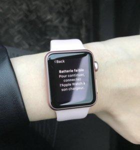 Продам часы Apple Watch 1 series 38mm
