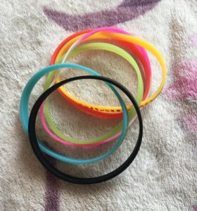 Резиновые браслетики