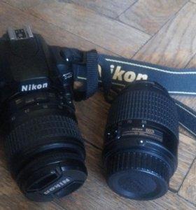 Nikon d40 kit 18-55 + объектив 55-200mm f/4-5