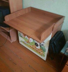 Детский комод + пеленальный стол