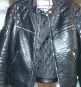 Кожа натуральная, куртка фирмы Wrangler новая