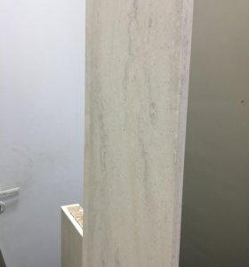 Столешница и стеновая панель искусственный камень