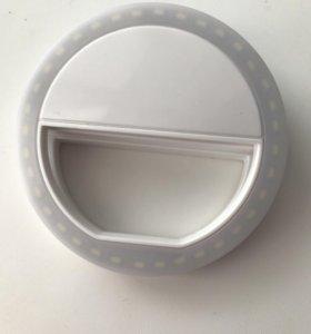 Selfie кольцо на телефон