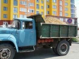 Вывоз строй мусора итд и Доставка строй материалов