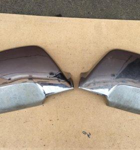 Накладки зеркал хром Nissan Armada