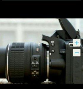 Фотоаппарат зеркальный никон