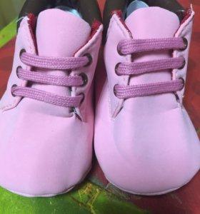 Новые ботинки-пинетки