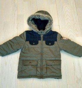 Куртка зимняя р 86 - 92