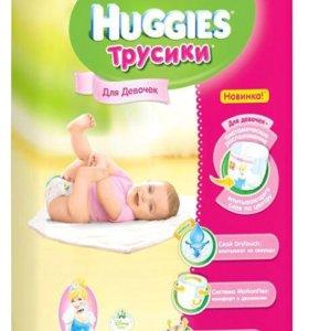Трусики для девочек Haggies Disney 3 (7-11кг)