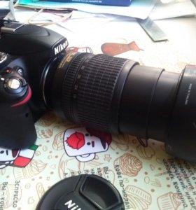 Nikon D3200 + nikkor 18 - 105