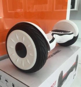 """Новый гироскутер 10.5"""" Белый матовый"""