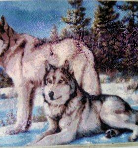 Картина(волки)