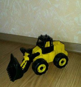 Машинка детская трактор - погрузчик