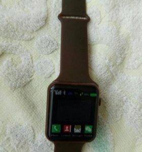 Часы электронные(корпус сделан под Apple wath)