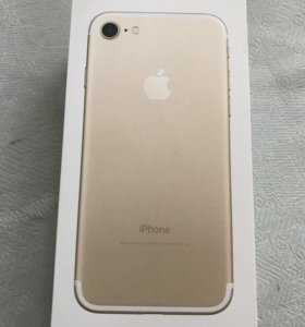 Айфон 7(32gb)цвет Gold