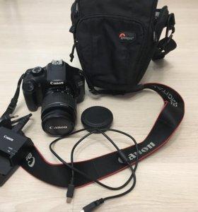 Зеркальная Фотокамера canon 1100D
