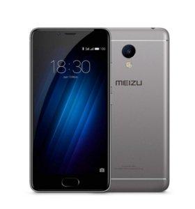 Продам Meizu M3s 16Gb черный, состояние хорошие