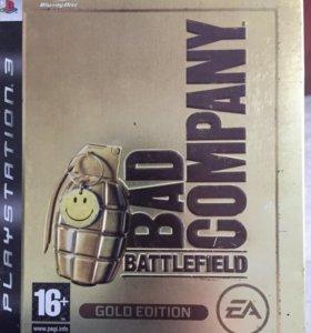 Диск на PS3 Battlefield Bad Company