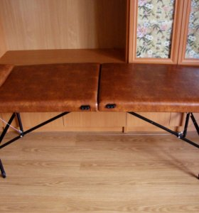 Регулируемый стол для массажа + валик и подушка