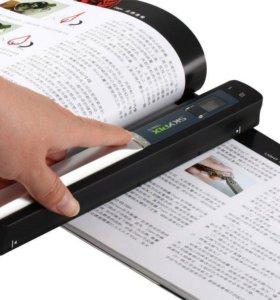 Портативный ручной сканер handyscan skypix 900DPI