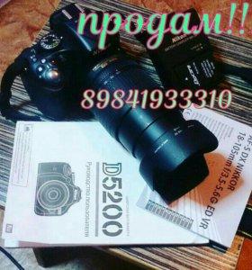 Nikon D5200 kit 18-105mm
