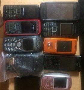 Телефоны на запчасти или восстановление