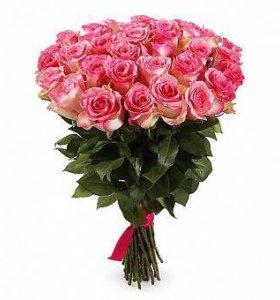 Шикарные розы Малибу 25 шт