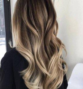Окрашивание волос, Кератиновое выпрямление