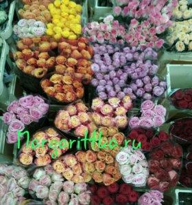 Розы оптом, букет роз, букет цветов, розы,