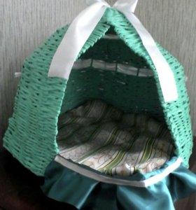 Лежанка- домик