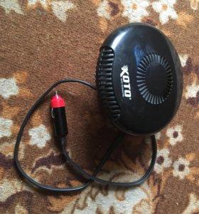 Абогреватель и вентилятор машинный.