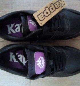 Новые кожаные кроссовки Kappa