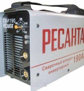 Сварка инверторная Ресанта САИ-160А
