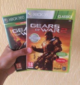 Игра на XBOX 360,Gears of War 1,2