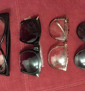 Очки солнечные простые