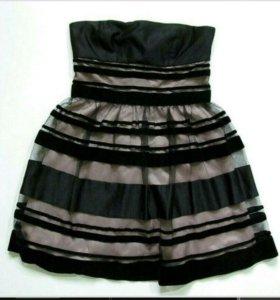 Платье корсет р 44