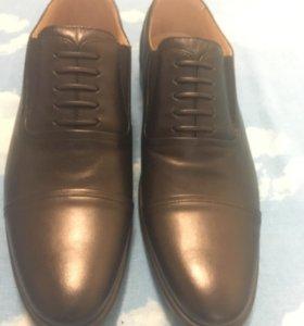 Летние туфли мужские Фарадей натуральная кожа
