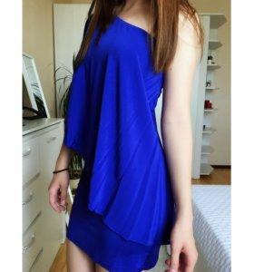 Вечернее платье синее