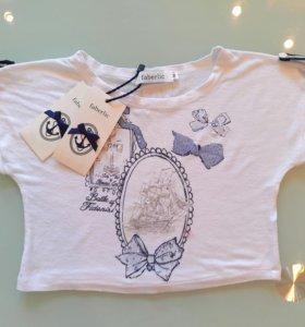 Топ блуза футболка Faberlic для девочки 92 р-р