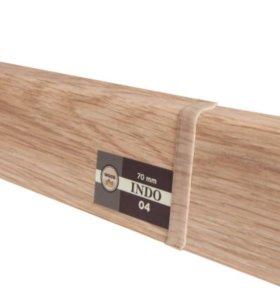 Плинтус пластиковый Arbiton Indo Lingburg Oak 04