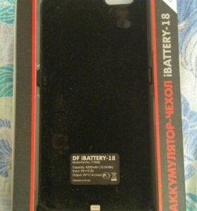 Чехол аккумулятор айфон 6 плюс