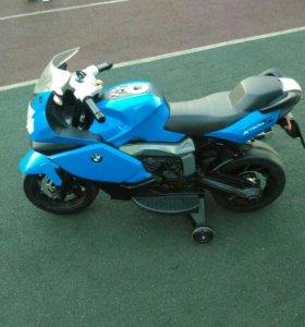 Электро-мотоцикл.В идеальном состоянии.Все работае