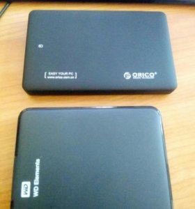"Кейс для внутреннего HDD 2.5"" Orico USB 3.0 SATA"