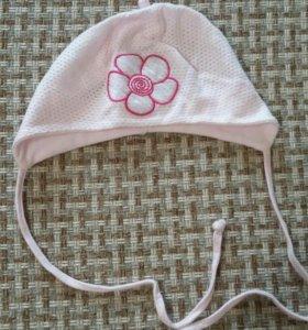 Летняя шапочка для девочки, 40 см