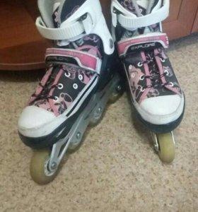 Роликовые коньки для девочки