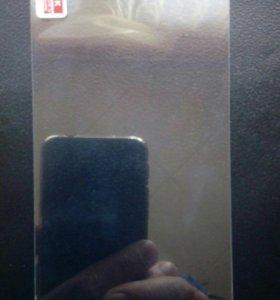 Защитное каленое стекло на экран 5 дюймов