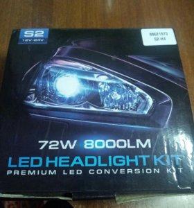 Продам светодиодные лампы Н4