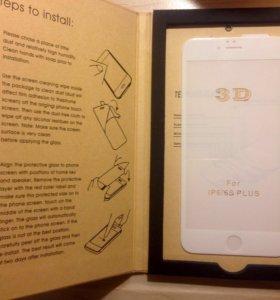 Новое 3D стекло на iPhone 6/6S Plus