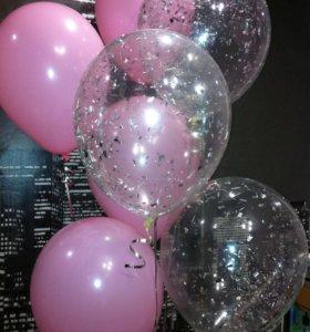 Гелиевые шары и фигурки из воздушных шаров